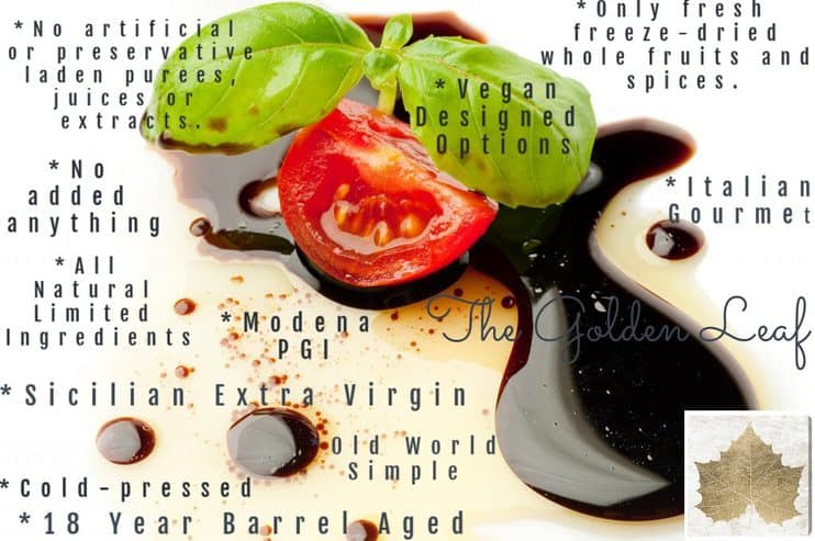 The Golden Leaf: Gourmet Nutrition